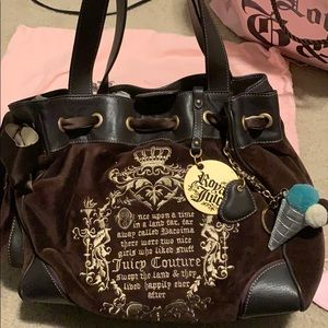 Juicy Couture Tote Bag- FREE KEYCHAIN